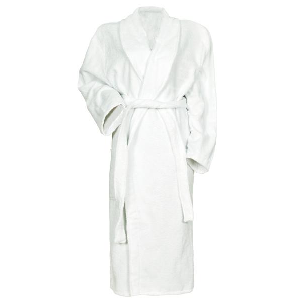 b2bd5c76b3e3 Махровый халат мужской - Белый. р 52: купить в Москве по выгодной цене