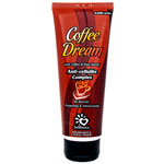 Крем для загара в солярии с маслом кофе, маслом Ши и бронзаторами - Coffee Dream. 125 мл