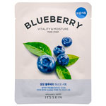 Тканевая маска для лица с черникой Blueberry Vitality Moisture Mask Sheet. 21 г