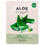 Тканевая маска для лица с экстрактом алоэ вера Aloe Moisture Calming Mask Sheet. 18 г